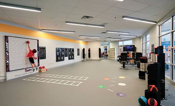Motion Zone: the Active Youth Center